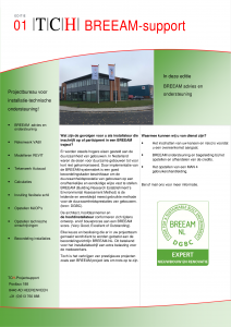 Publicatie BREEAM